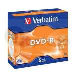 DVD-R Verbatim Advanced AZO 4,7 GB 16x jewel box