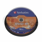 DVD-R Verbatim Advanced AZO 4,7 GB 16x 10-cake